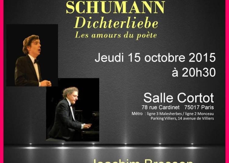R�cital Chant Piano � Paris 17�me