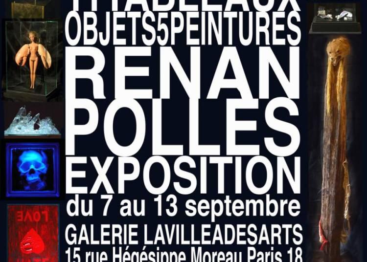 21 objets, 11 tableaux, 5 peintures � Paris 18�me