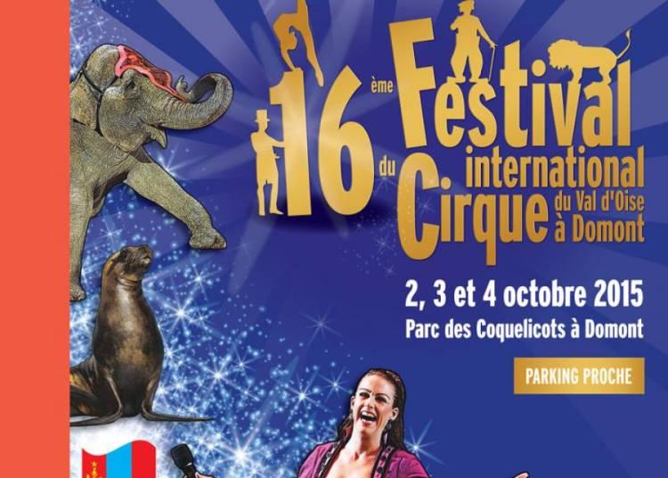 Festival International du Cirque Du Val d'Oise 2015