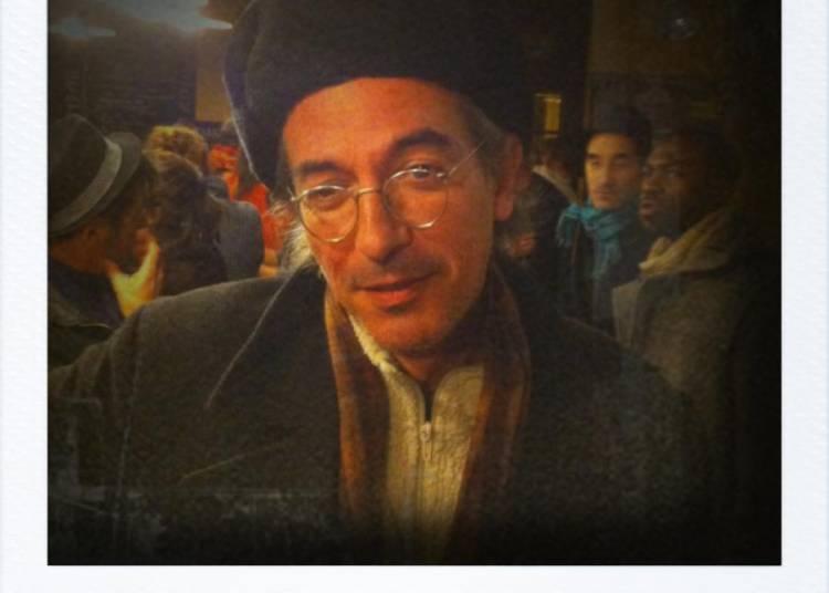 Monsieur Gadou et sa secr�taire � Bordeaux