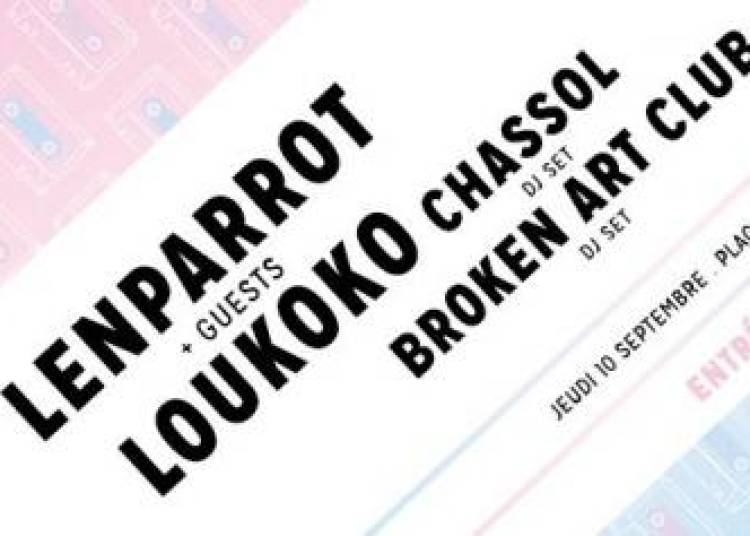 Broken Art Club Party #1 � Paris 19�me
