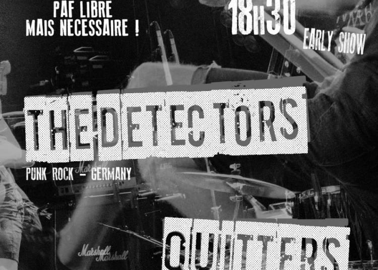 Concert punk rock, The Detectors et Quitters � Toulouse