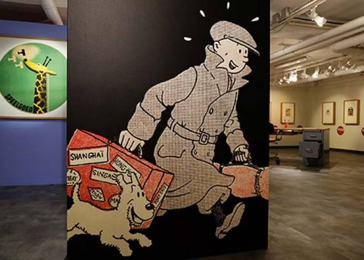 Le Musee Imaginaire De Tintin � Paris 1er