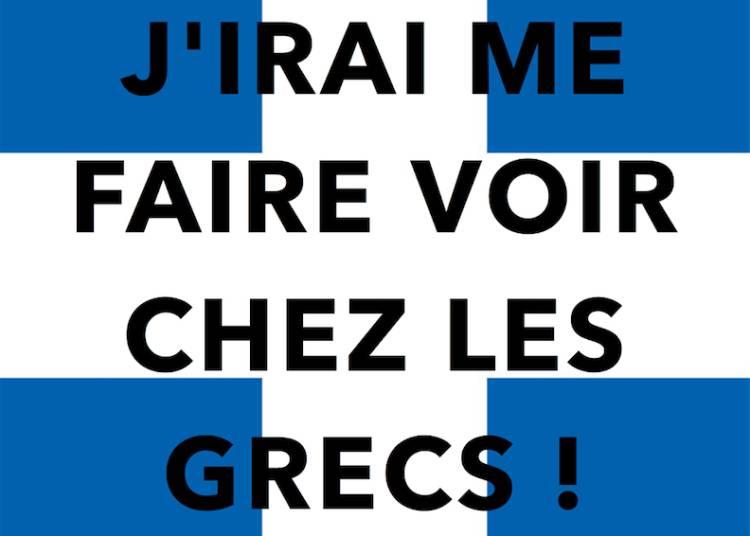 Rapha�l Leyzour, J'Irai Me Faire Voir Chez Les Grecs ! � Paris 12�me