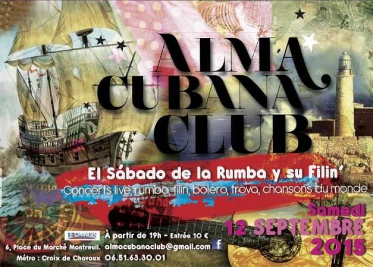 Alma Cubana Club � Montreuil