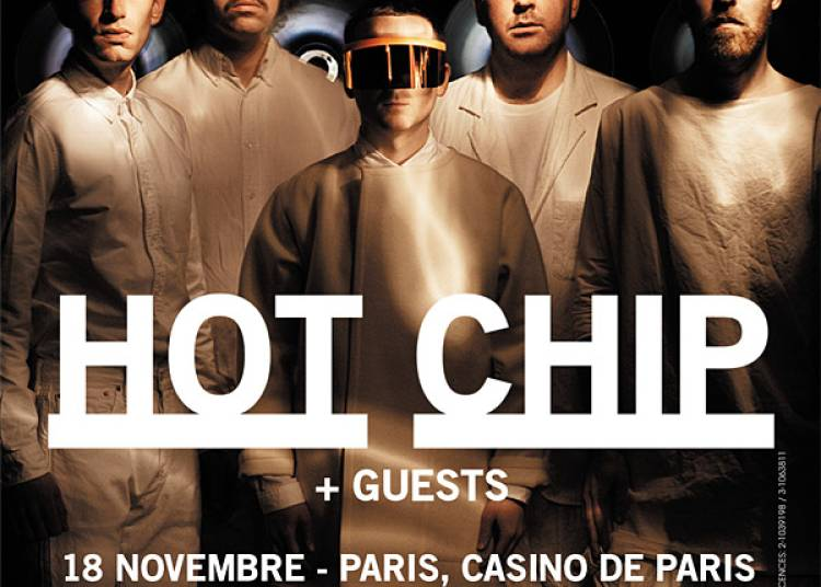 Hot Chip et 1�re Partie � Reims