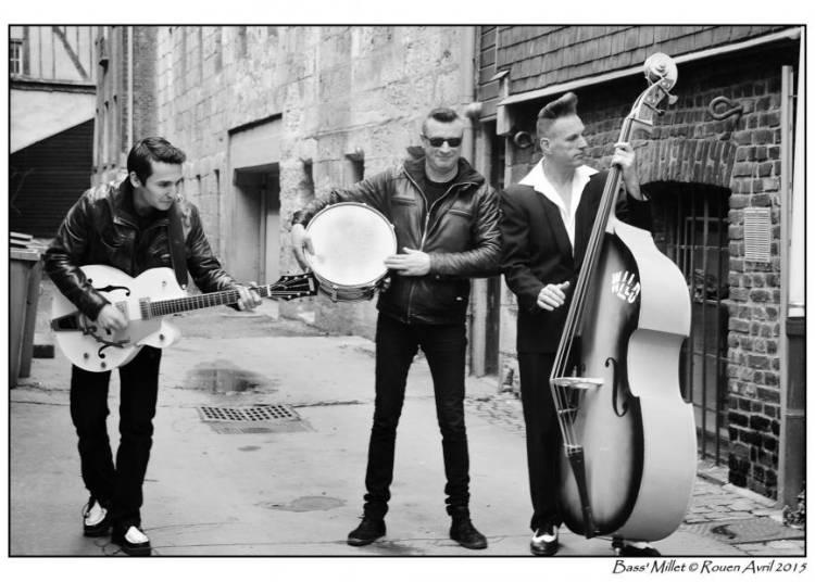 Ap�ro-concert avec Hot Slap Trio, rockabilly ! � Sotteville les Rouen