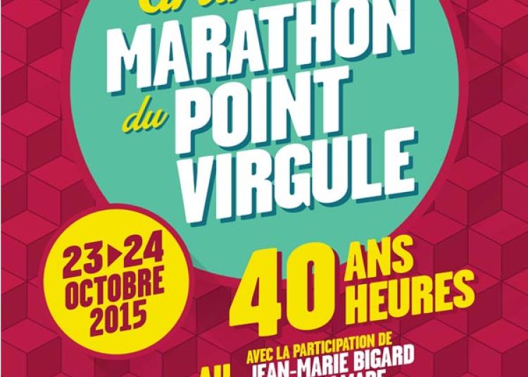 Le Marathon du Point Virgule 2015