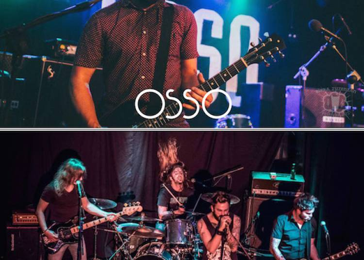 Smoke Deluxe et Osso en concert au Magn�to � Bayonne