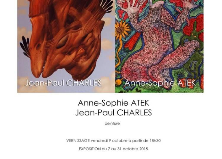 Anne-Sophie Atek et Jean-Paul Charles � Voiron