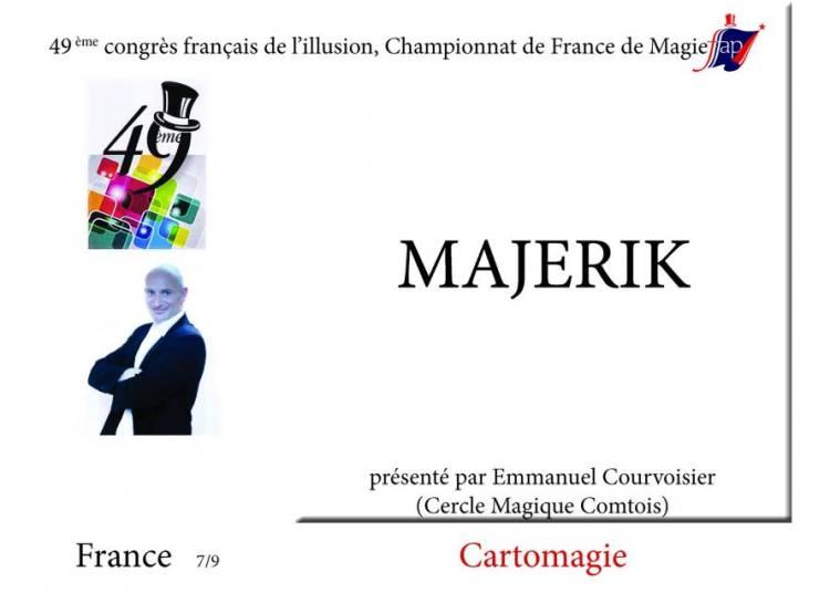 Championnat de France de magie � Besancon