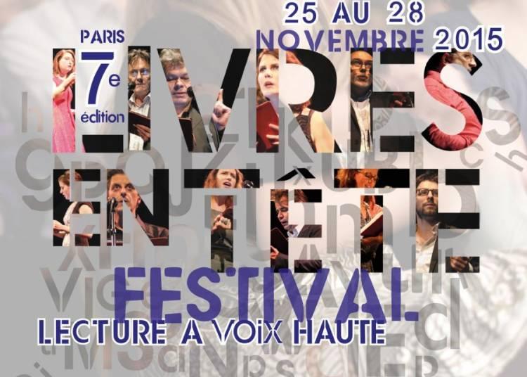 Festival Livres en T�te 2015