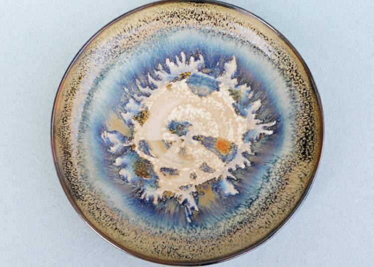 Emaux et c�ramiques de l'atelier du Roc d'Arguille, Marie Duchesne � Barraux