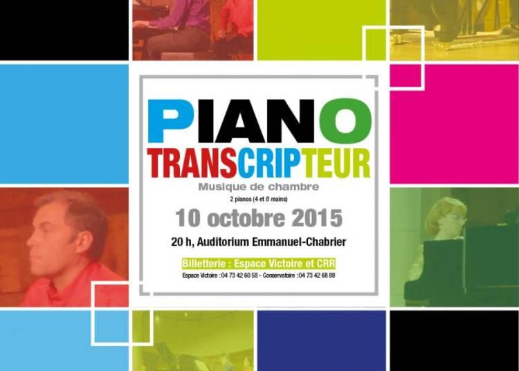 Piano transcripteur � Clermont Ferrand