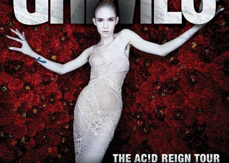 Grimes � Paris 18�me