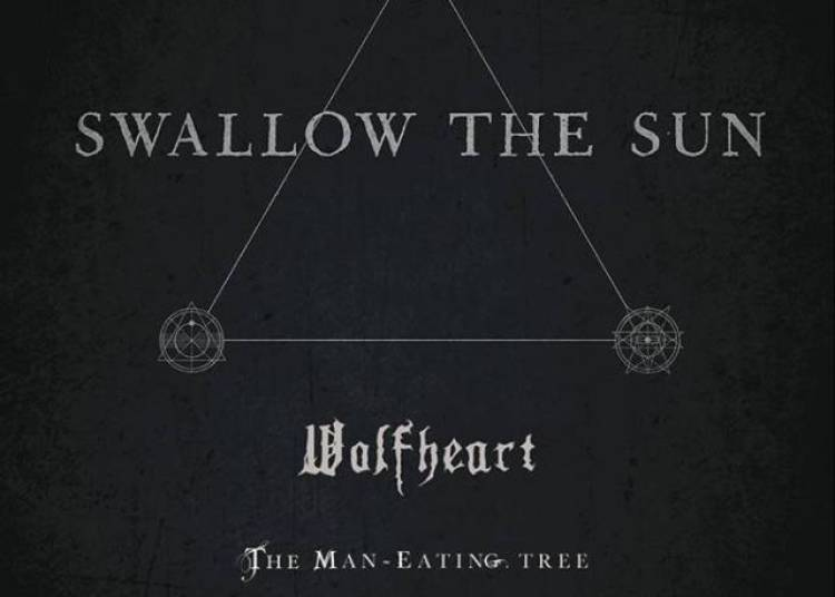 Swallow The Sun et Wolfheart � Paris 19�me