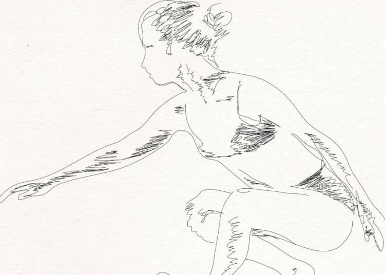 Une Ballerine Baladeuse � Aix en Provence