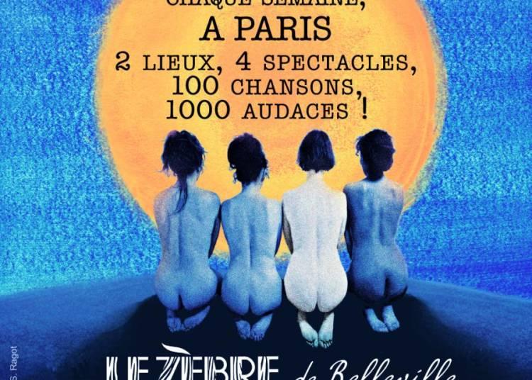 Le Quartet Buccal - Les Femmes aux yeux ouverts sont dangereuses � Paris 9�me
