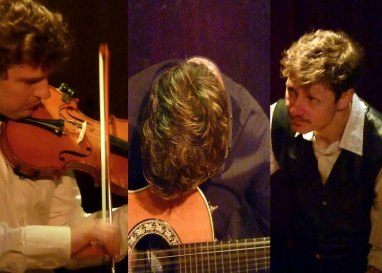 Fabien Lafiandra Trio : guitare, cajon et violon � Grenoble