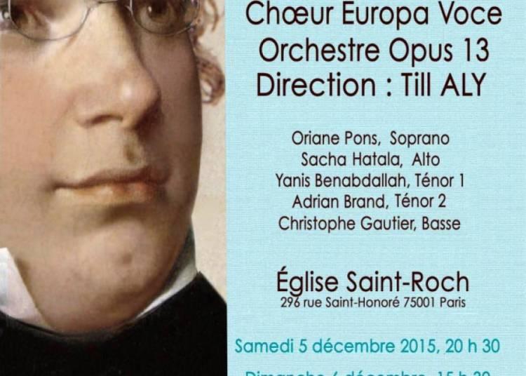 Schubert: Messe En Mi B�mol Majeur Et Intende Voci � Paris 1er