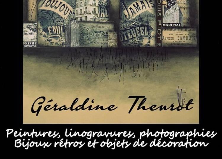 Peintures, linogravures, photographies et bijoux � Fontainebleau
