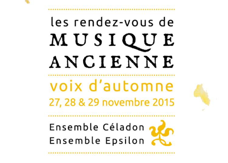 Les Rendez-vous de musique ancienne / Voix d'automne � Lyon