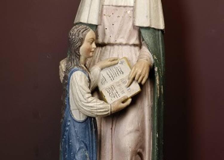Sainte Anne et le livre � Nantes