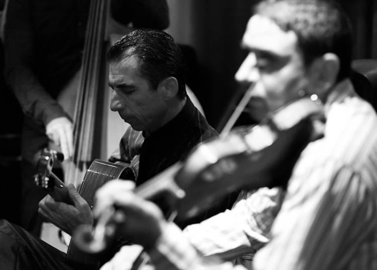 Angelo Debarre Quartet, Jazz Manouche � Paris 11�me
