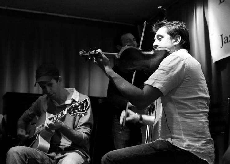 Costel Nitescu Quartet, Jazz Manouche � Paris 11�me