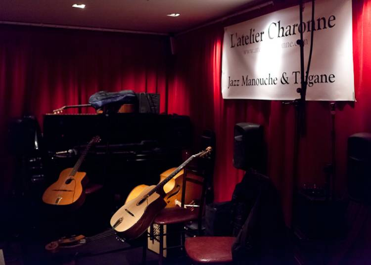 Daniel John Martin Trio Invite Robin Nolan, Jazz Manouche � Paris 11�me