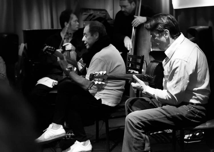 Les Fr�res Ferre Trio, Jazz Manouche � Paris 11�me