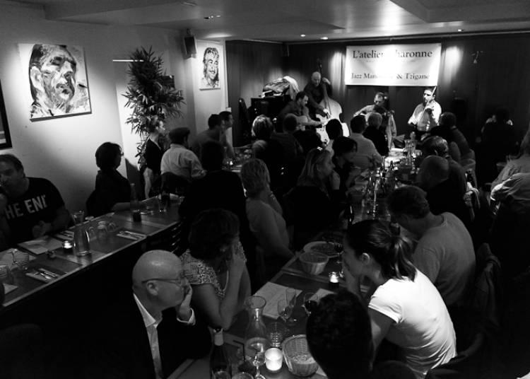 Rocky Gresset Trio, Jazz Manouche � Paris 11�me