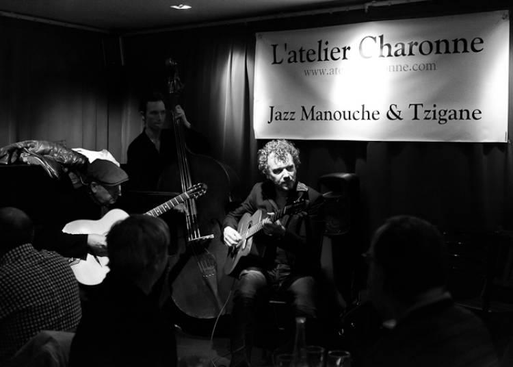 Rodolphe Raffalli Trio, Hommage � Georges Brassens, Jazz Manouche � Paris 11�me