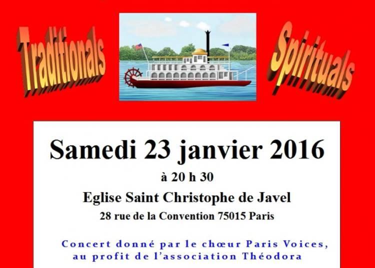 Mississippi Spirit - Gospel � Paris 15�me