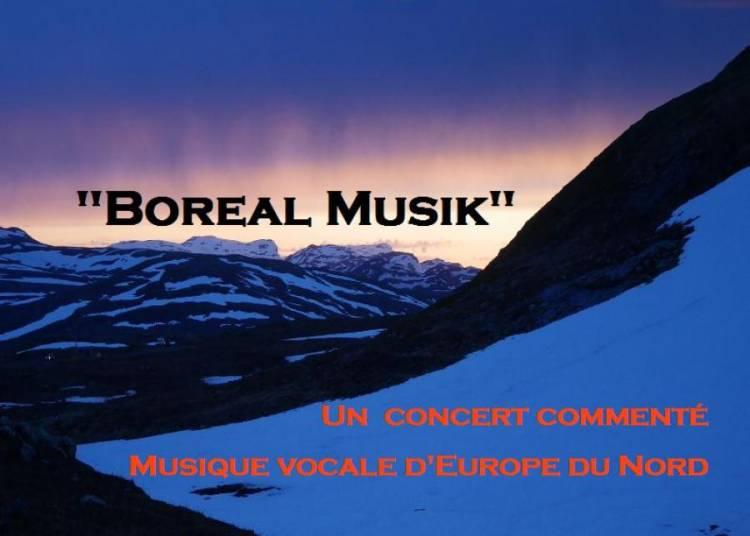 Boreal Musik, Un concert comment� � Paris 17�me