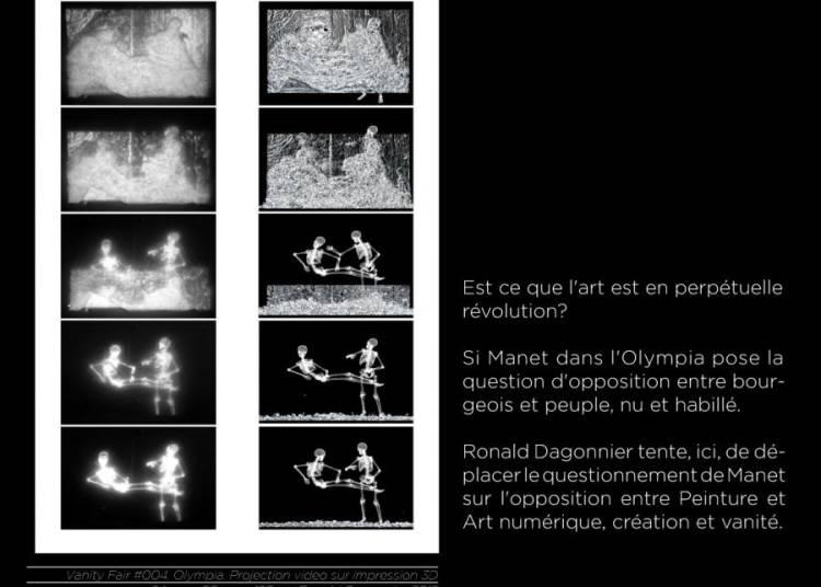 Exposition : regard critique sur l'art contemporain et son �crin par 3 artistes � Cachan