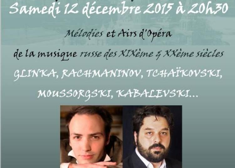 Concert Russe � Paris 17�me