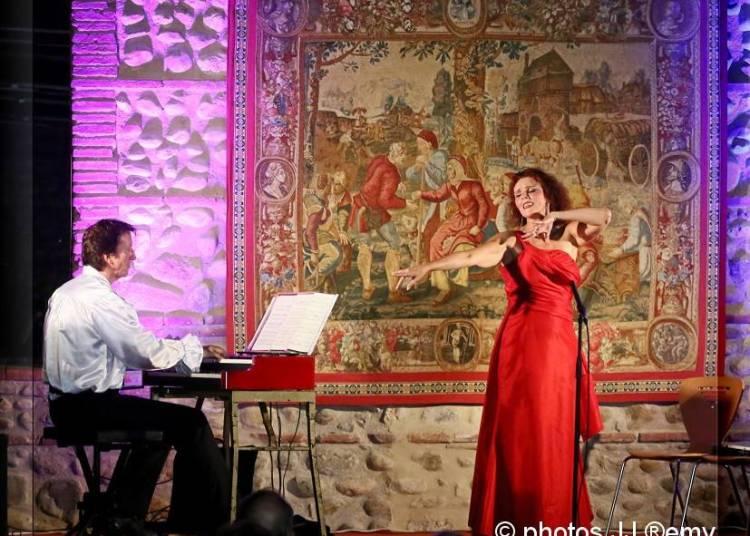 Grand Concert de No�l  avec le Duo Canticel � Lezignan Corbieres