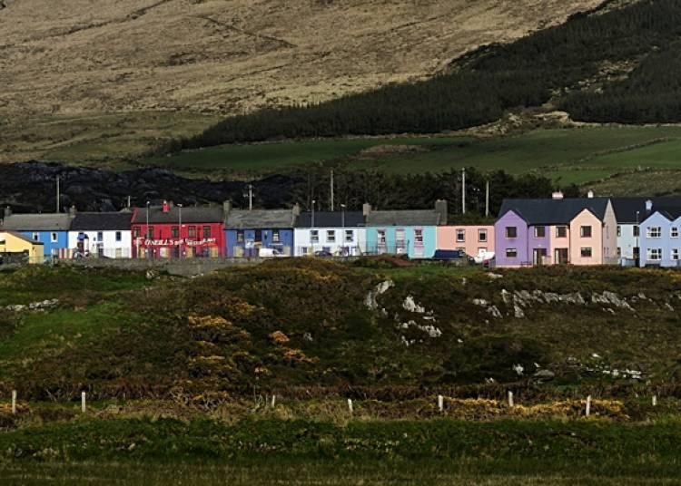Deux voyageurs en Irlande � Penmarch