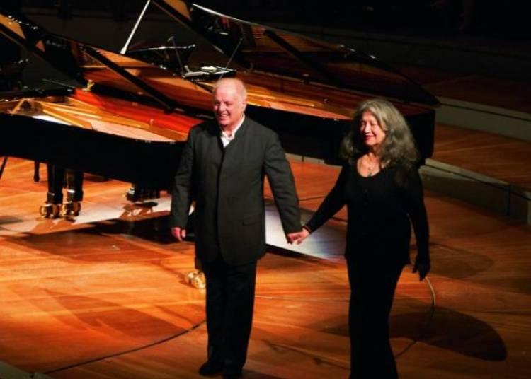 Martha Argerich et Daniel Barenboim � Paris 19�me