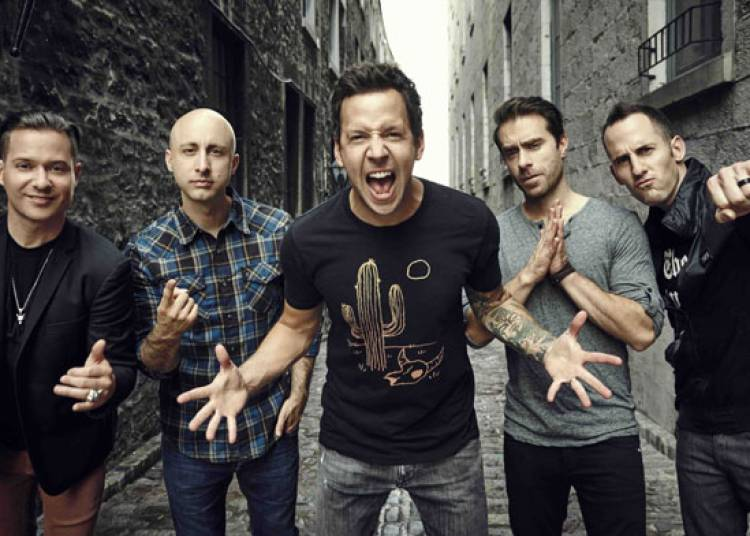 Simple Plan, Taking One For The Team � Strasbourg