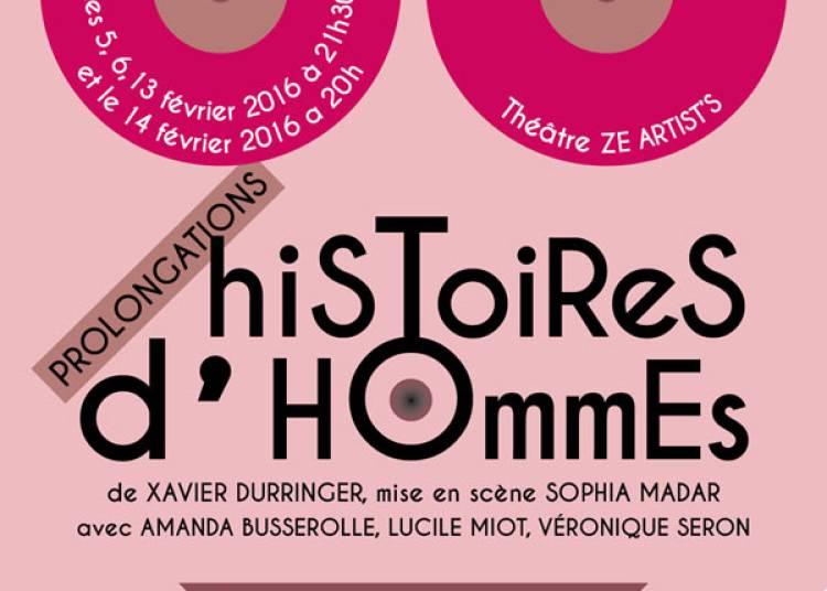 Histoires D'hommes � Paris 19�me