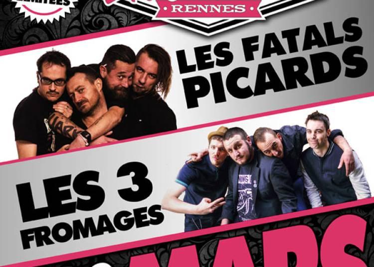 Les Fatals Picards et Les 3 Fromages � Rennes
