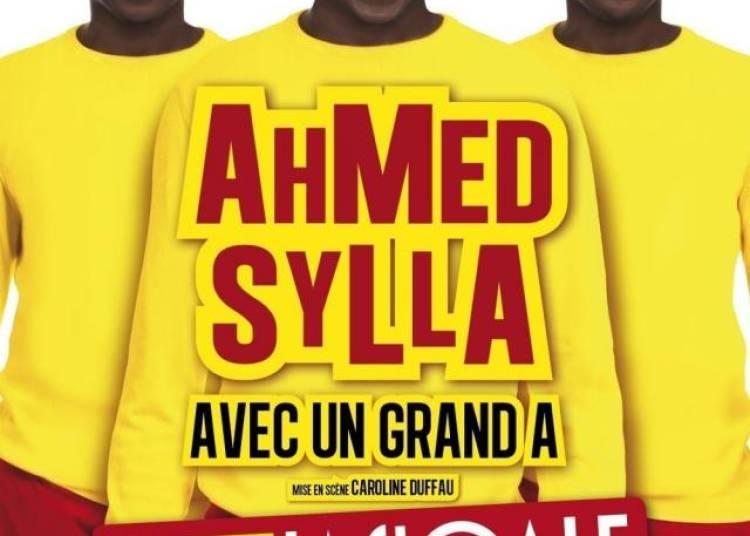 Ahmed Sylla Avec Un Grand A � Paris 18�me