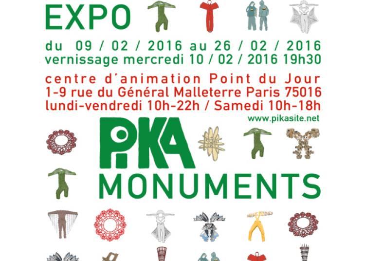 Pika-monuments � Paris 16�me