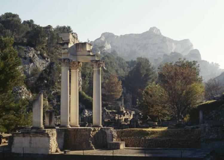Site Archeologique De Glanum � Saint Remy de Provence