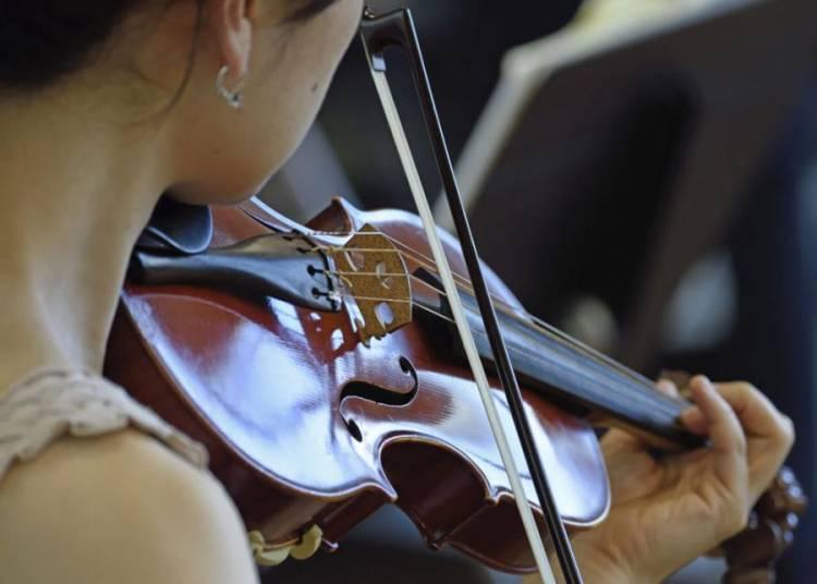 D�gustation-d�couverte : Duos et trios de violons � Saintes