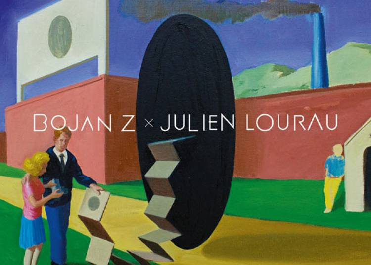 Bojan Z et Julien Lourau � Lille