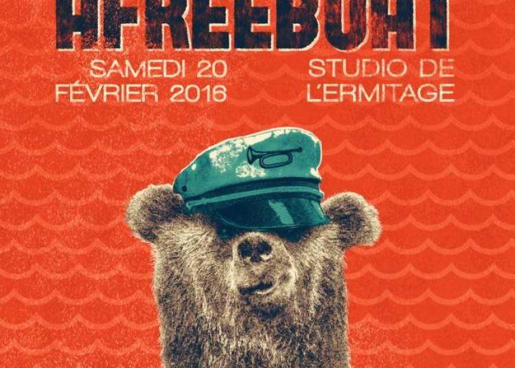 Grizz-li et Afreeboat � Paris 20�me