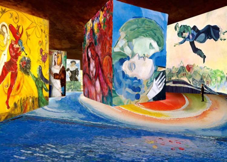 Chagall � Les Baux de Provence